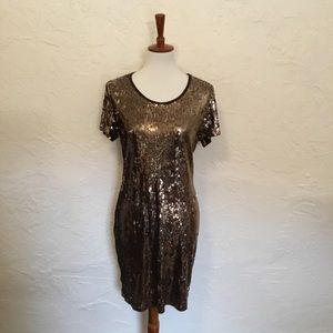 Dresses & Skirts - Michael by Michael Kors sequin Dress. Size large.